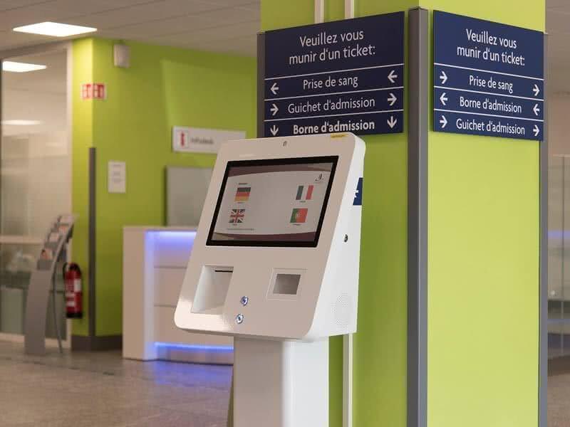 Krankenhaus Self-Check-In von eKiosk
