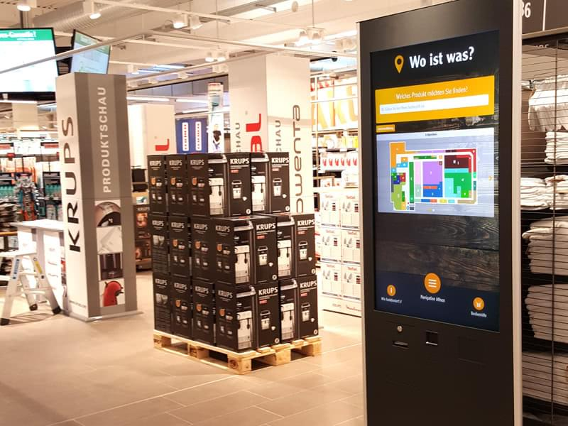 Globus Phex Stele im Einzelhandel