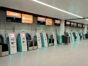 Flughafen Check-In von eKiosk