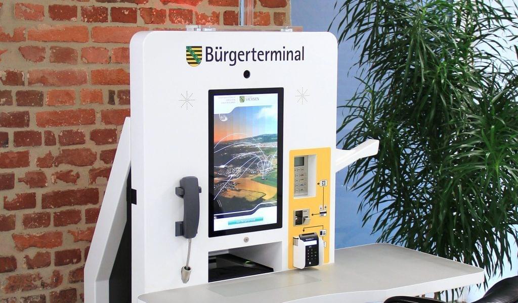 Bürgerterminal für Sachsen