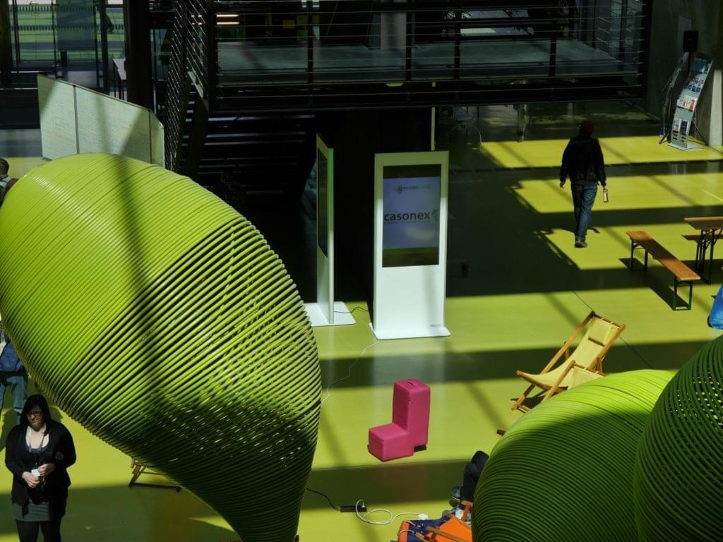 Phex Stand Stele in der TU Dresden