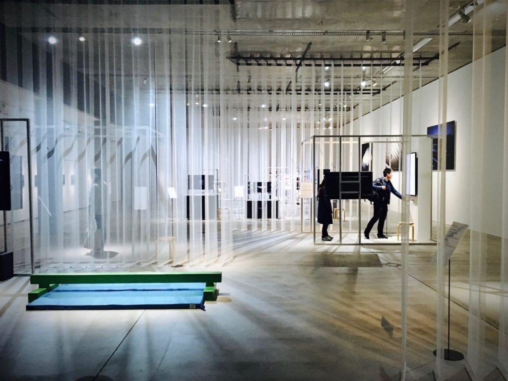 Ausstellungsraum von Kunstausstellung