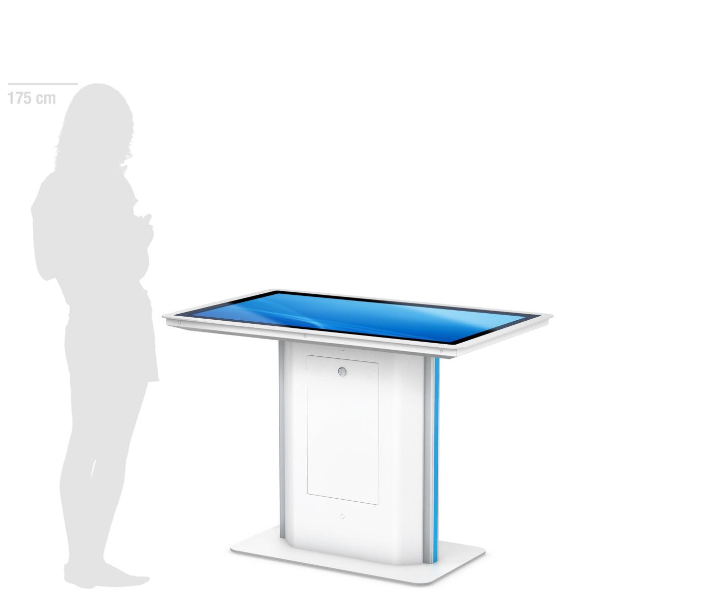 PHEX Table - Interaktives Display in Tischform von eKiosk