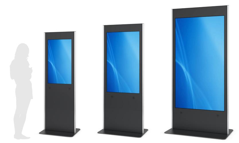 PHEX STAND - Digitales Display mit Touch in verschiedenen Größen von eKiosk