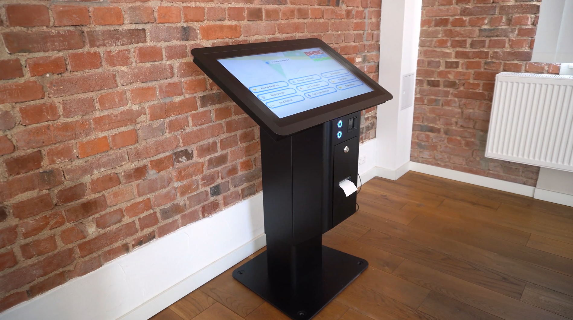 Basic Income Machine eKiosk Konsole