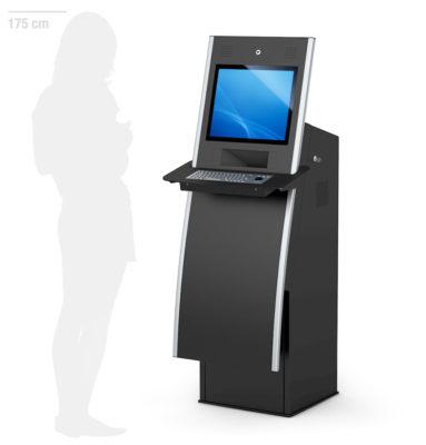 HERA - Digitales Self Service Terminal mit Drucker von eKiosk