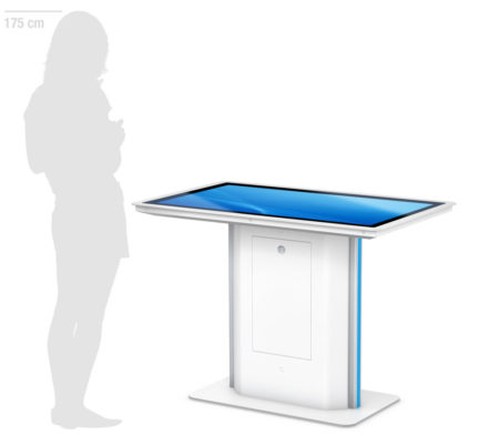 PHEX Table - Interaktives Display in Tischform von eKiosk